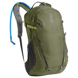 CamelBak Cloud Walker 18 Hydration Pack 2017, Lichen Green-Dark Citron, 256