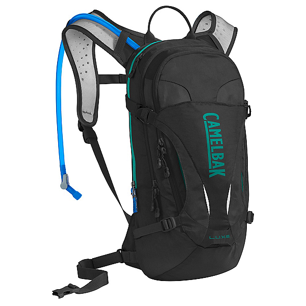 CamelBak L.U.X.E. Hydration Pack 2017, Black-Columbia Jade, 600