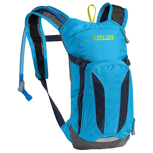 CamelBak Mini M.U.L.E Hydration Pack 2017, Atomic Blue-Navy Blazer, 600