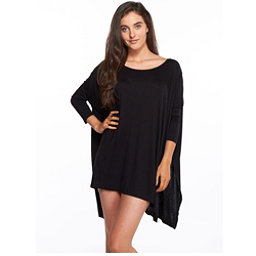 Body Glove Brynn Dress Bathing Suit Cover Up, Black, 256
