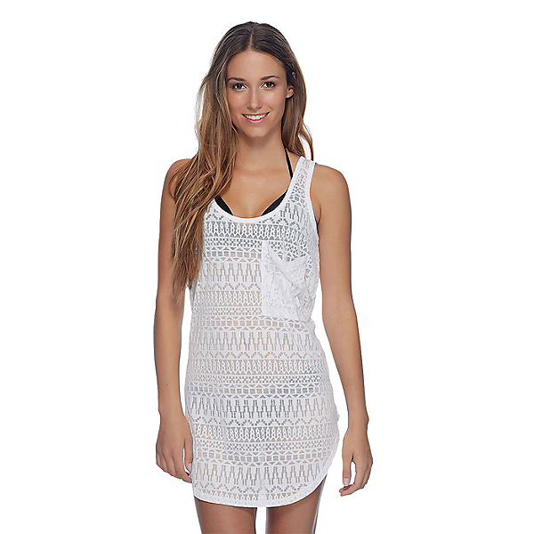 Body Glove Lexi Dress Bathing Suit Cover Up, White, 600