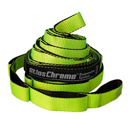 ENO Atlas Chroma Suspension Straps 2018, Neon-Black, 256