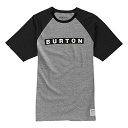 Burton Vault Short Sleeve Mens T-Shirt, Gray Heather, 256