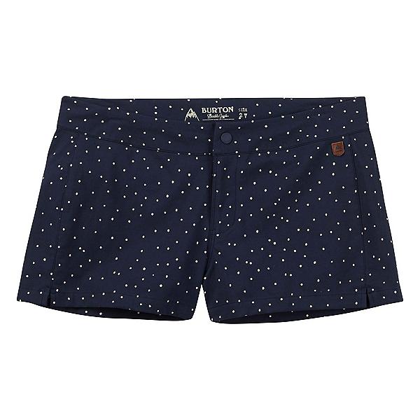 Burton Shearwater Womens Hybrid Shorts, Mood Indigo Dots, 600