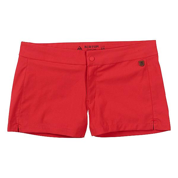 Burton Shearwater Womens Hybrid Shorts, Coral, 600