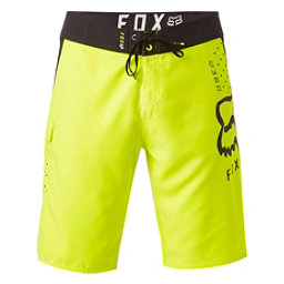 Fox 360 Solid Mens Board Shorts, Flo Yellow, 256
