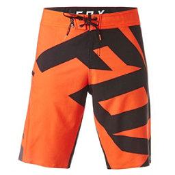 Fox Dive Closed Circuit Mens Board Shorts, Flo Orange, 256