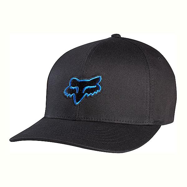 Fox Legacy Flexfit Hat, Black-Blue, 600