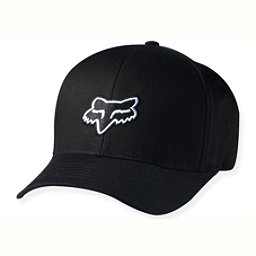 Fox Legacy Flexfit Hat, Black, 256
