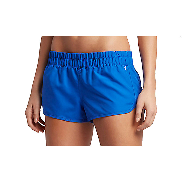 Hurley Solid Beachrider Supersuede Womens Board Shorts, Racer Blue, 600