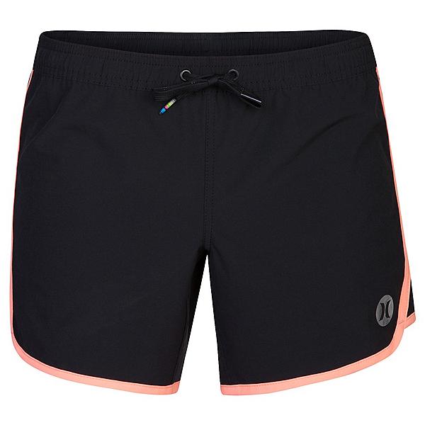 Hurley Phantom Solid 5 Inch Womens Board Shorts, Atomic Pink, 600