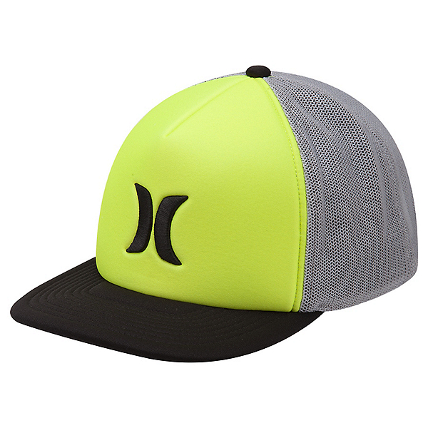 Hurley Blocked 3.0 Trucker Hat, Volt, 600