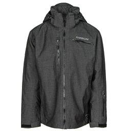 Karbon Stealth Mens Insulated Ski Jacket, Black Mix-Black Mix-Black-Blac, 256