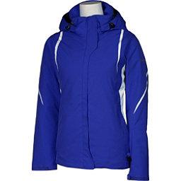 Karbon Opal Womens Insulated Ski Jacket, Indigo-Indigo-Arctic White-Arc, 256