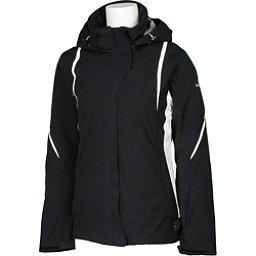 Karbon Opal Womens Insulated Ski Jacket, Black-Black-Arctic White-Arcti, 256