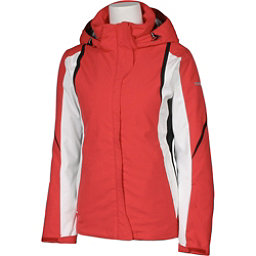Karbon Opal Womens Insulated Ski Jacket, Paradise-Arctic White-Black-Bl, 256