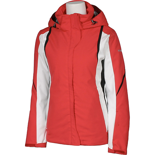 Karbon Opal Womens Insulated Ski Jacket, Paradise-Arctic White-Black-Bl, 600