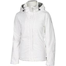Karbon Amethyst Womens Insulated Ski Jacket, Arctic White-Arctic White, 256