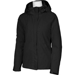 Karbon Amethyst Womens Insulated Ski Jacket, Black-Black, 256
