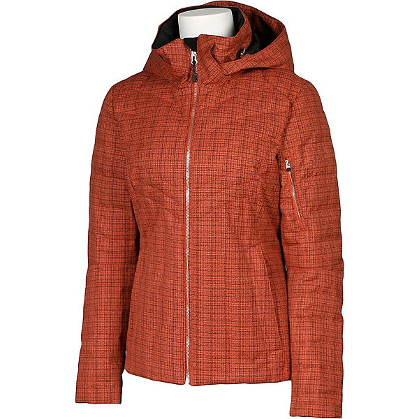 Karbon Amper Womens Insulated Ski Jacket, Persimmon Tweed, 600