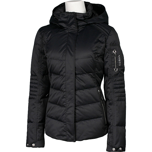 Karbon Ion Womens Insulated Ski Jacket, Black, 600