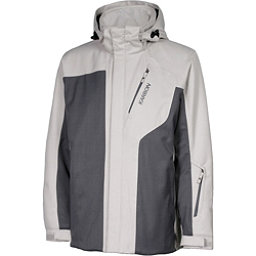 Karbon Granite Mens Insulated Ski Jacket, Platinum-Charcoal-Charcoal, 256