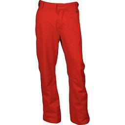 Karbon Rock Mens Ski Pants, Red-Charcoal, 256