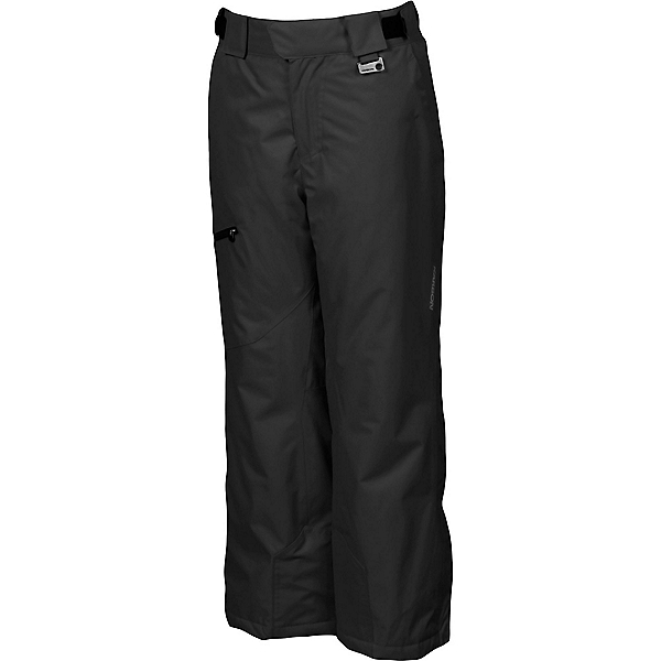 Karbon Stinger Kids Ski Pants, Black-Black, 600