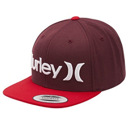 Hurley One and Only Snapback Hat, Mahogany, 256