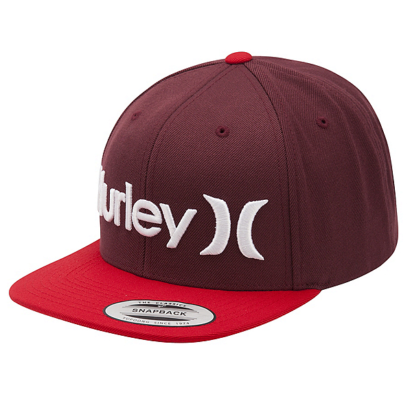 Hurley One and Only Snapback Hat, Mahogany, 600