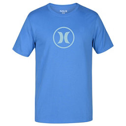 Hurley Circle Icon Dri-Fit Mens T-Shirt, Light Photo Blue, 256