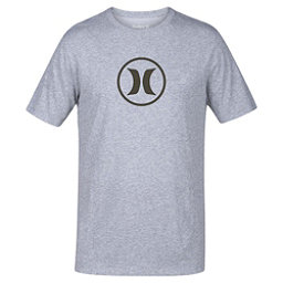 Hurley Circle Icon Dri-Fit Mens T-Shirt, Dark Grey, 256