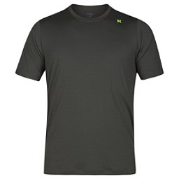Hurley Dri-Fit Icon Surf Shirt Mens Rash Guard, Cargo Khaki, 256