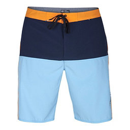 Hurley Phantom Beachside Outtake Mens Board Shorts, Vivid Sky, 256