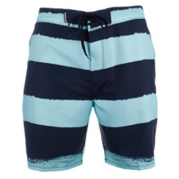 Hurley Phantom Beachside Brother Mens Board Shorts, Obsidian, 256