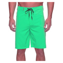 Hurley Phantom One And Only 20 Inch Mens Board Shorts, Neon Green, 256