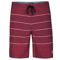 Hurley Phantom Pinline Mens Board Shorts, Gym Red, 256
