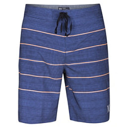 Hurley Phantom Pinline Mens Board Shorts, Blue Moon, 256