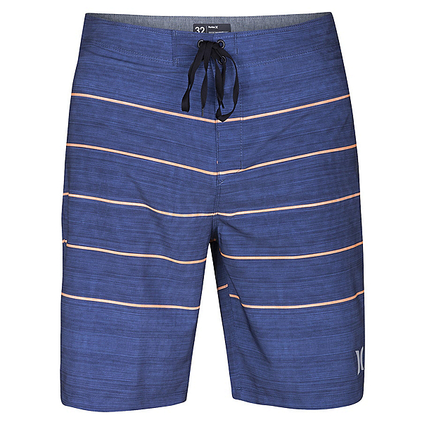 Hurley Phantom Pinline Mens Board Shorts, Blue Moon, 600
