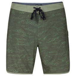 Hurley Phantom Outcast Mens Board Shorts, Cargo Khaki, 256