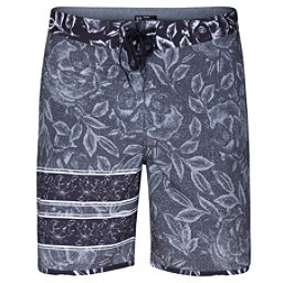 Hurley Phantom Block Party Rosewater Mens Board Shorts, Black, 256