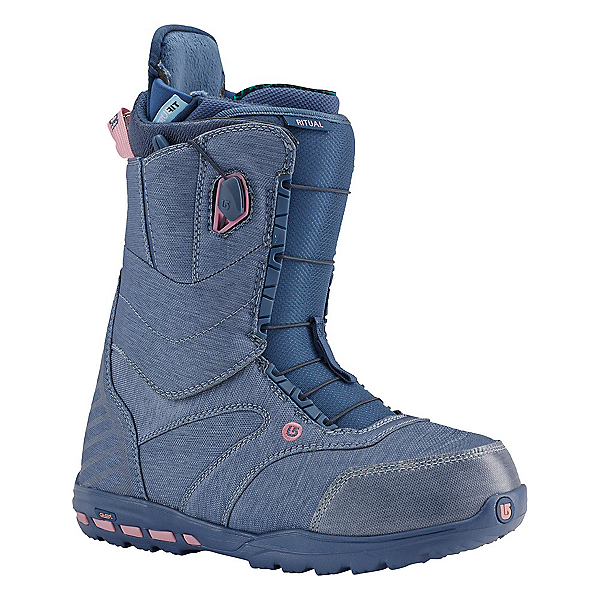 Burton Ritual Womens Snowboard Boots, Debby Does Denim, 600