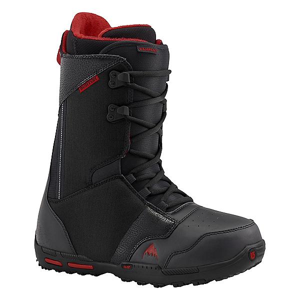 Burton Rampant Snowboard Boots, Black-Brick, 600