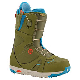 Burton Emerald Asian Fit Womens Snowboard Boots, Olive-Teal-Red, 256