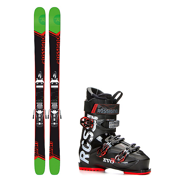 Rossignol Smash 7 Evo 70 Ski Package, , 600