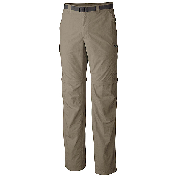 Columbia Silver Ridge Convertible Mens Pants, Tusk, 600