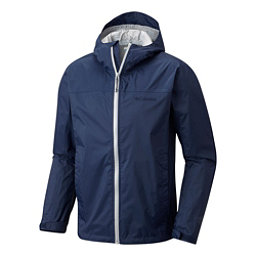 Columbia EvaPOURation Mens Jacket, Collegiate Navy-Columbia Grey, 256