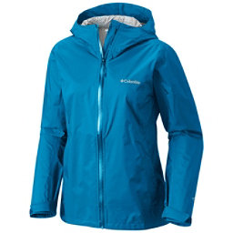 Columbia Evapouration Womens Jacket, Dark Cyan-Wind, 256