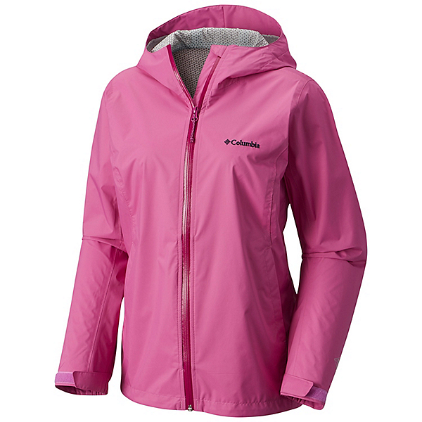 Columbia Evapouration Womens Jacket, Bright Lavender-Intense Violet, 600