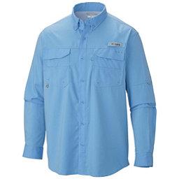 Columbia PFG Blood and Guts III Long Sleeve Woven Mens Shirt, White Cap, 256